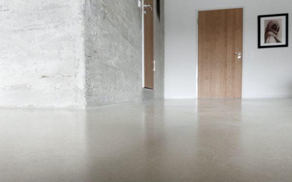 Designestrich im Hotelzimmer bei Speicher7 in Mannheim
