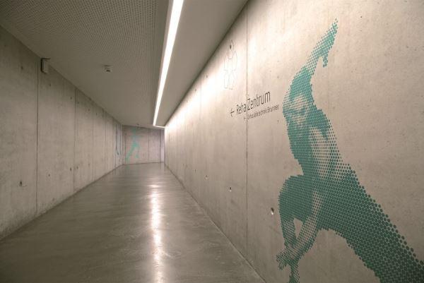 Sichtbeton-Boden im Reha-Zentrum Mannheim